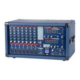 Phonic Power750rw Consola Potenciada 7ch 500wt Usb Bluetooth