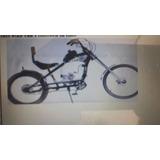 Quadro De Bicicleta Chopper Motorizada Somente O Quadro