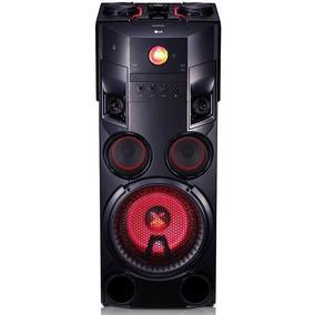 Caixa De Som Lg Om7560 X Boom Dj Torre Mini System 1000w Rms