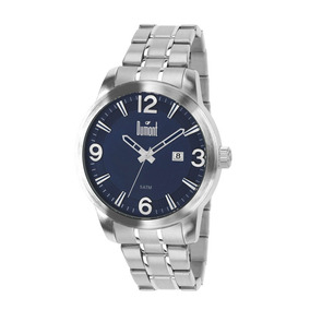 Relógio Dumont Masculino Prata Du2315ap/3a