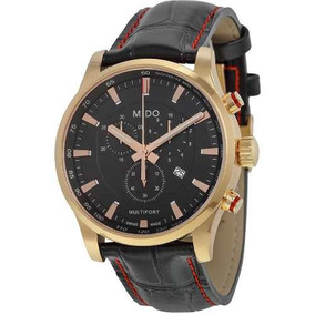 12678430403 Relógio Mido Multifort M0054173605120 Cronografo Rose Gold. R  3.979