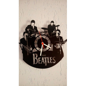 Relogio Beatles Em Mdf