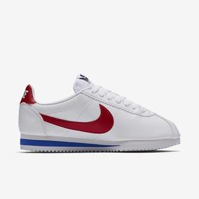 Tênis Nike Classic Cortez Branco E Vermelho