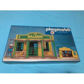 Raríssimo Lacrado Playmobil Saloon Trol Único No Ml Mui Raro