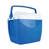 Caixa Térmica 18 Litros Azul Para Até 24 Latinhas 350ml Mor