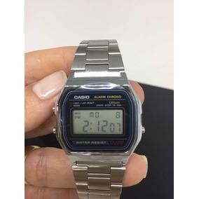 3e3f8049085 Casio Vintage A158w Prata - Relógios De Pulso no Mercado Livre Brasil