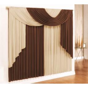 Cortina Elegance 3,00x2,80 P/sala Ou Quarto