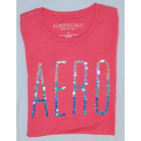 0b7aad1d7b Camisa Aéropostale Feminina Polo Ou Blusa Camiseta Original. 10 cores. R  97