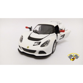 Miniatura Lotus Exige 2012 S Branca Kinsmart 1:32