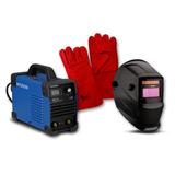Soldadora Inverter 120amp Hyundai 82hymma120+mascara+guantes