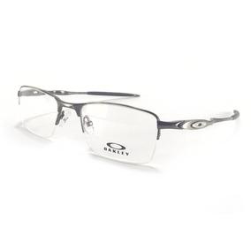 08df05f063bc6 Armação Óculos Oakley Crosshair P grau Lupa Descanso Grafite