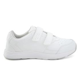 Zapato Escolar Coqueta Para Niña 153503-b Blanco [cta540]