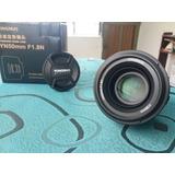 Vendo: Objetivo Yongnuo Para Nikon 50mm 1.8