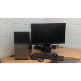 Computadora Dell Optiplex9020 Con Monitor Dell P2317h