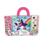 I Love Unicorns. Maletin De Arte Acuarelas Y Stickers Kreker