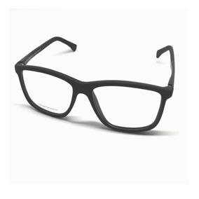 c7eec608c4e35 Óculos Armação Fino E Preto Quadrado Armani - Óculos no Mercado ...