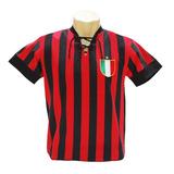 Camisa Retro Milan - Camisas de Times de Futebol no Mercado Livre Brasil e516671a13dd3