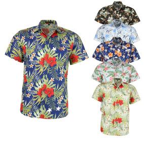 Camisa Floral Masculina - Camisa Masculino no Mercado Livre Brasil 57ac51cfe3e4b