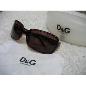 d5a38b6a2a4f9 Dolce   Gabbana Dg 809 s Óculos De Sol Havana Brow- Origina