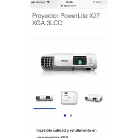 Proyectores Epson X27 3lcd
