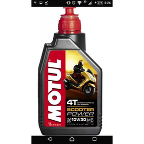 Scooter Power 10w30 Motul. 2 Litros