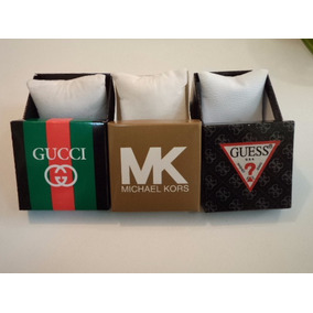 Caja Estuche Para Reloj Con Almohadilla Mk Guess Y Gucci