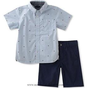 Conjunto Infantil Tommy Hilfiger Camisa Social Original 3 A 8a60a6c648bbf