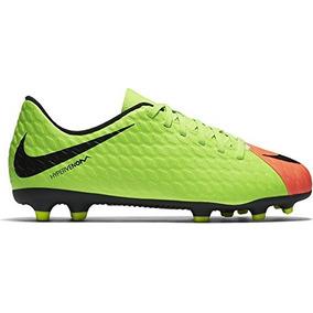 Nike Junior Hypervenom Phade Iii Fg Zapatillas De Futbol Vo 28b8e2c041dbb