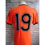 Camisa adidas Futebol Shirt Holanda Holland Antiga 1978 Imp. 91946a55b9e98