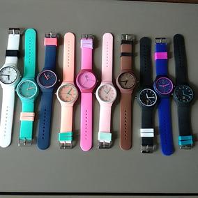 Kit 10 Relógios adidas Barato Color Várias Cores + Brinde