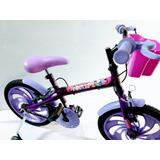 Bicicleta Aro 16 Wendy Bike Feminina