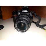 Câmera Fotográfica Nikon D5000 Profissional Com Objetiva