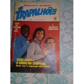 Revista Os Trapalhões No.2. Editora Bloch. Bem Conservada.