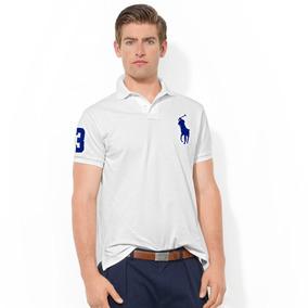 Playera Polo By Ralph Lauren Custom Fit Color Blanco