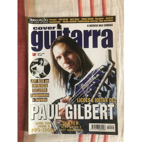Revista Cover Guitarra N°49 Paul Gilbert - Ano De 1998