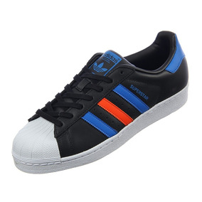0f92bc60c3b Tenis adidas Originals Superstar Collection Negra Con Azul
