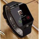 Relógio Celular Smartwatch / Zd09 Chip Câmera Som Memória