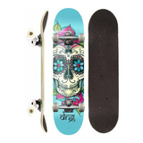 Skate Completo Dng Profissional Lady Girl
