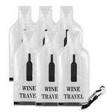Protector De De Vino Reutilizablevino Bolsas Con Doble Bu