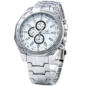Relógio Orlando 410 Quartz Masculino Com Sub-dials Decorativ