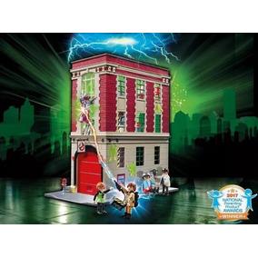 Playmobil Ghostbusters Firehouse Caça-fantasmas Quartel 9219