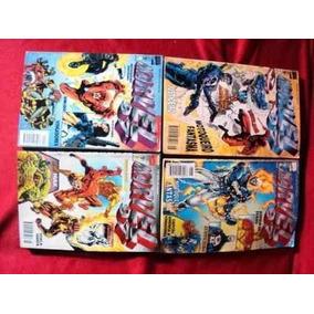 Lote Gibis - Marvel 97: N° 3, 4, 5, 6