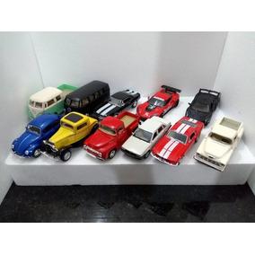Carrinho Colecao Miniatura Diversos Modelos Unidade 1/32