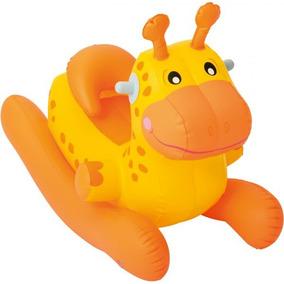 Brinquedo Balanço Bebê Inflável Infantil Girafa Dino Bestway