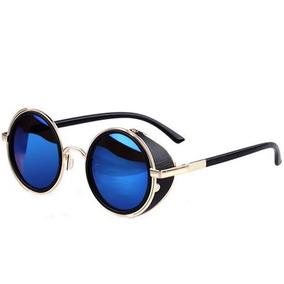 Oculos Escuro Redondo Masculino Espelhado De Sol - Óculos no Mercado ... 8041eb8911