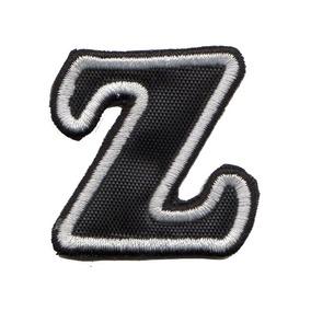Patch Bordado Talysma P  Camiseta Letras Alfabeto Letra Z 58f88c08aaf48