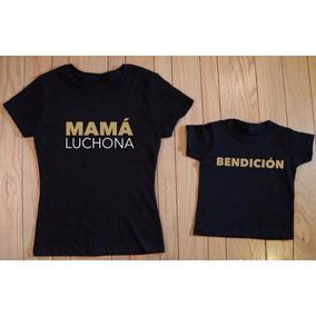 Playera Mama Luchona - Playeras Manga Corta en Mercado Libre México a6ce00b796265