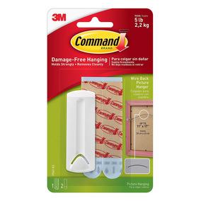 Comando Alambre Back Gancho Para Colgar 1 Hanger Blanco 9f02c2449610