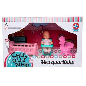 Boneca Coleção Chuquinha - Meu Quarto Quartinho - Estrela