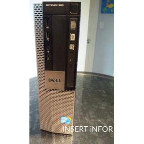 Optiflex 960 Core2 Quad Q8400 + 4gb Hd 320gb +teclado +mouse